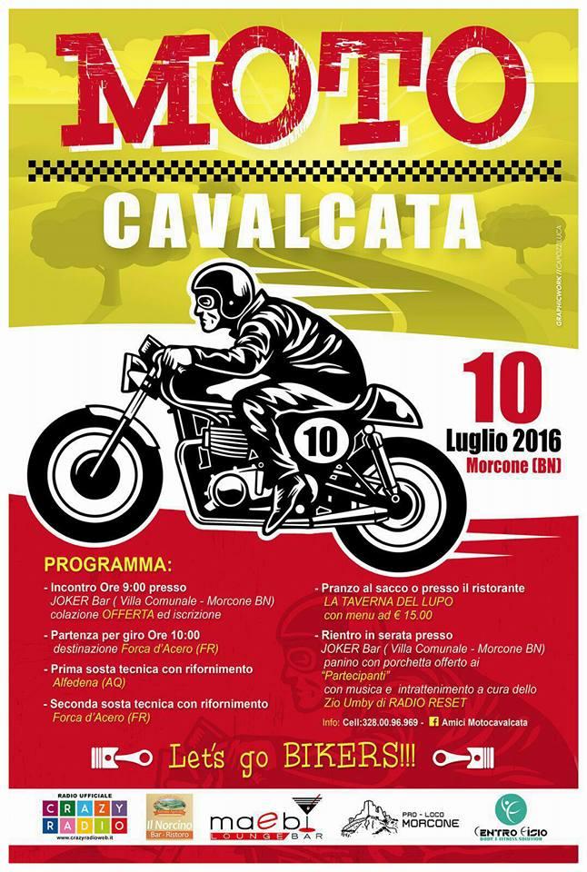 Programma Motocavalcata