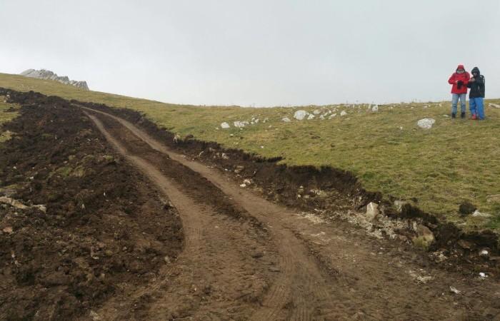 Eolico in montagna: bloccati i lavori a Ripa Malaportelle, inizia il Presidio