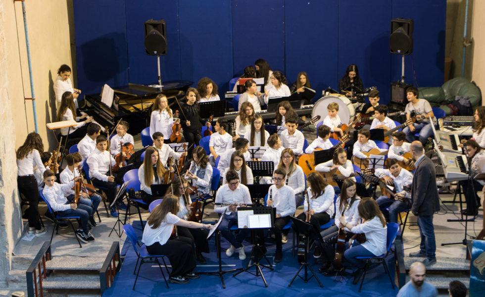 Scuola media ad indirizzo musicale, l'Orchestra dei Pentri