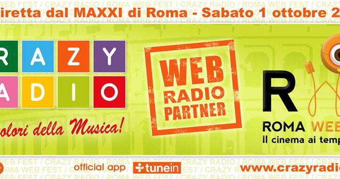 CrazyRadio al Roma Web Fest