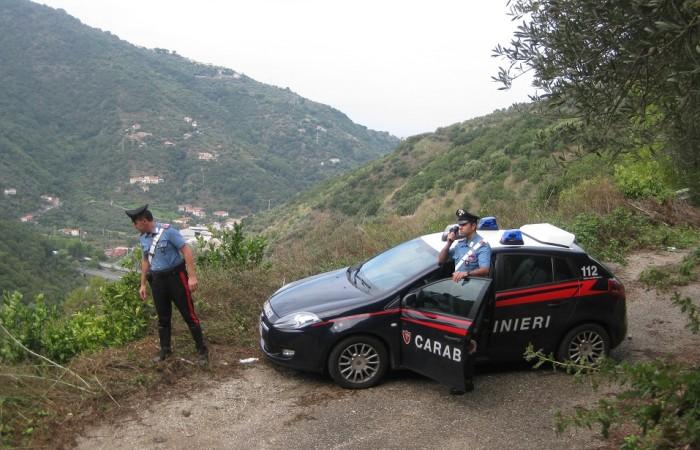 Resti umani ritrovati in un bosco, indagano i Carabinieri