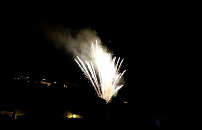 San Domenico, i fuochi d'artificio
