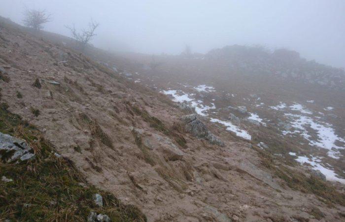 Sversamenti di fanghi sui pascoli permanenti della Montagna di Morcone