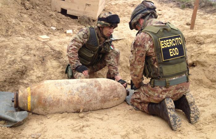 Bomba inesplosa, tutte le precauzioni per le operazioni di domani