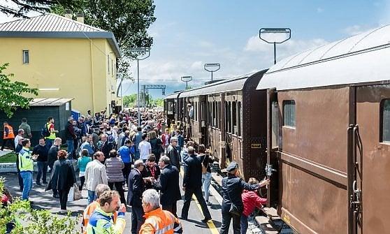 Con il Sannio Express nella stazione di Morcone