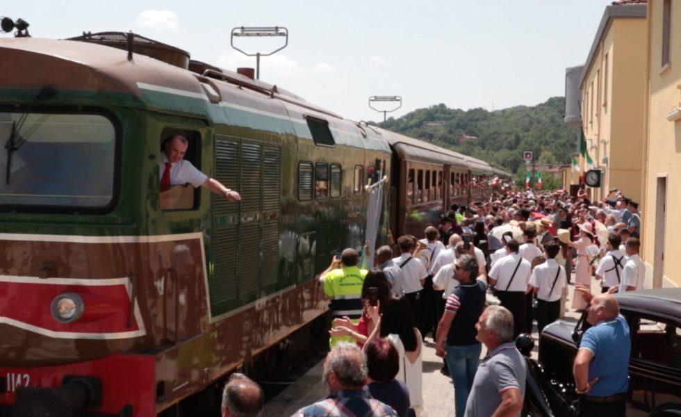 VideoRacconto dell'arrivo del Sannio Express a Morcone