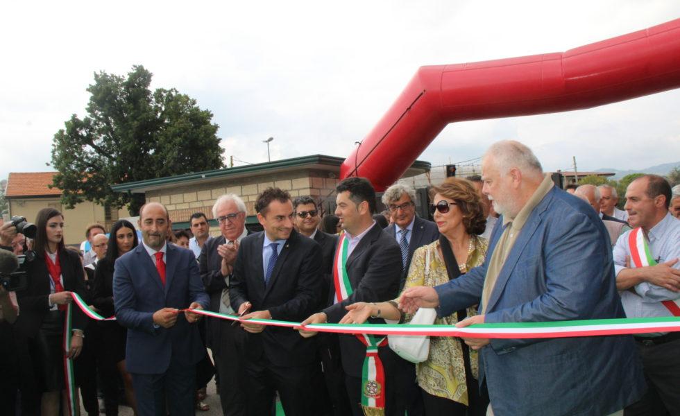 Grande partecipazione per l'inaugurazione della XLV Fiera di Morcone