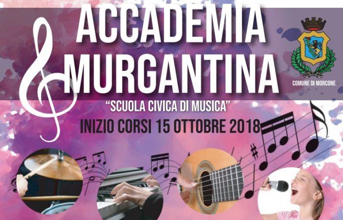 """Scuola civica musicale """"Accademia Murgantina"""": al via l'anno accademico 2018/2019"""
