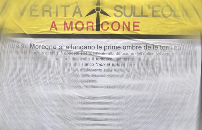 L'angolo dei lettori: la denuncia del Comitato Area 51 sulla verità dell'eolico a Morcone