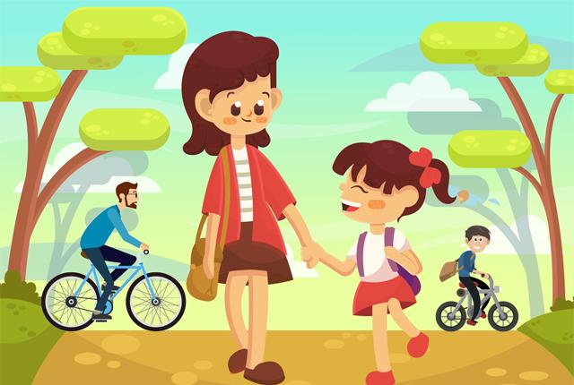 """Domani la giornata Nazionale """"Tutti a scuola a piedi o in bicicletta"""""""