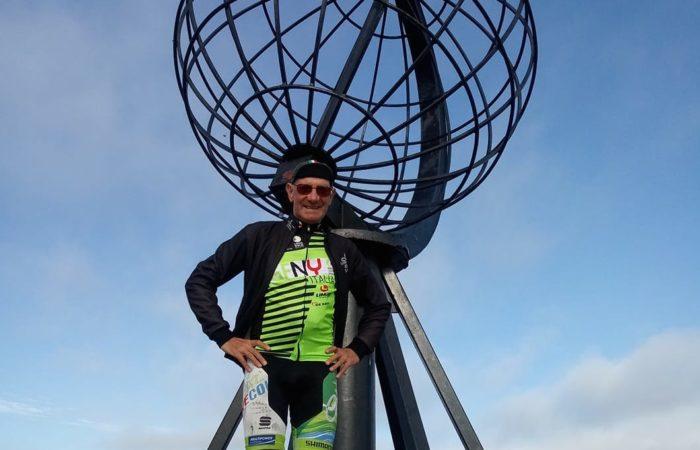 A Capo Nord in bicicletta: impresa per Nico Aurisicchio