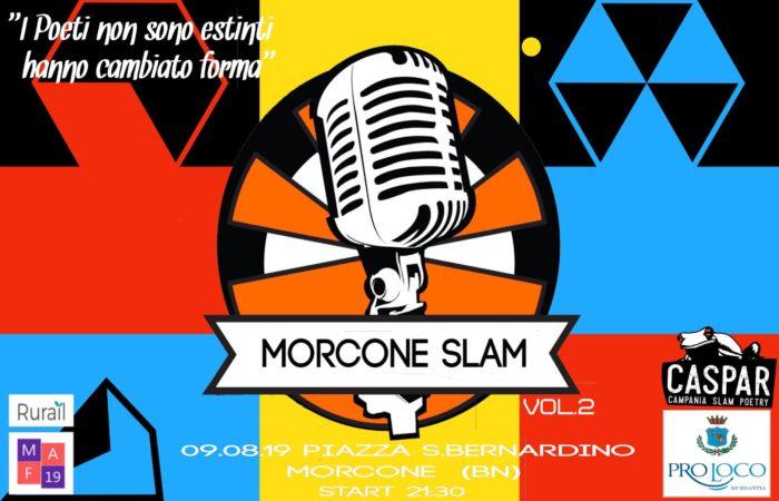 Morcone SLAM: dopo il successo del 2018 torna con il Vol. 2