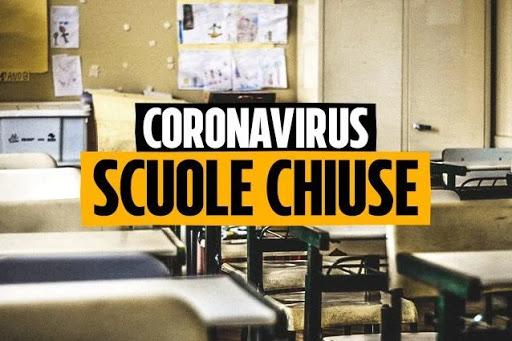 Covid19: scuole materne, elementari e medie chiuse da domani