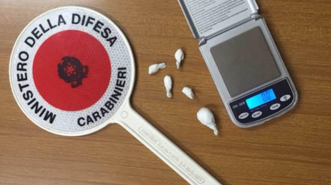 Controlli antidroga: giovane segnalato per cocaina